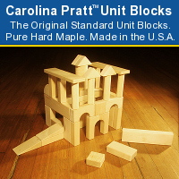 Photo of Wooden Blocks for Kids: CP01 Infant Toddler Set of Unit Blocks.
